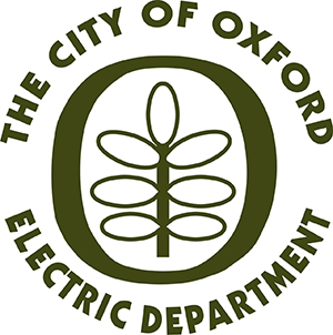Oxford Electric Department Logo